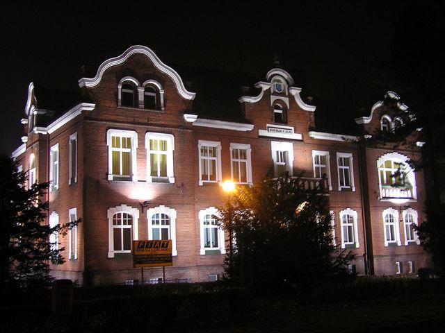 Lubliniec nocą - listopad 2005