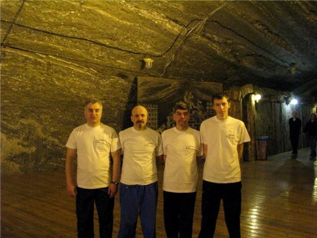 Zawody w Kopalni Soli w Bochni 2011