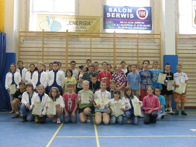 Świetne wyniki lublinieckich badmintonistów na Mistrzostwach Śląska