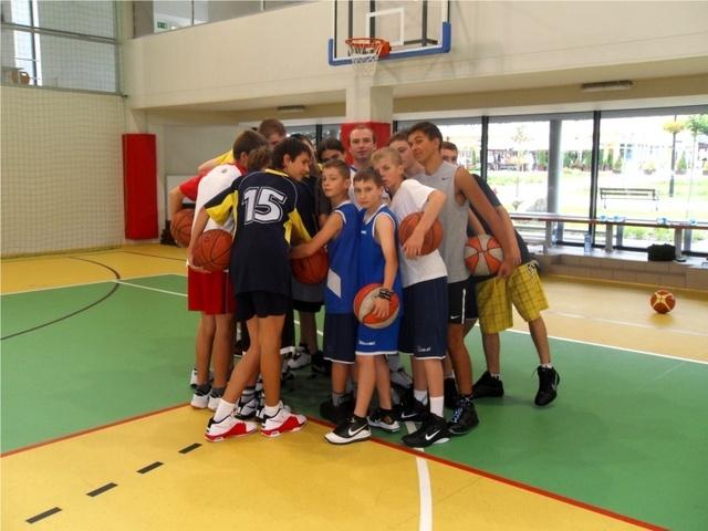 Koszykarze na obozie w Wiśle