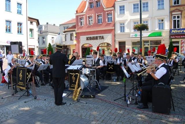 Orkiestra Dęta zagrała na lublinieckim rynku