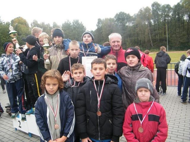 Świetne występny naszych młodych przełajowców na Mistrzostwach Śląska