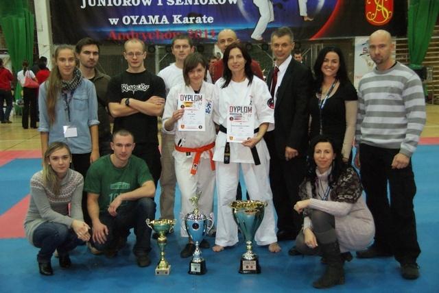 Złoto, srebro i brąz w Pucharze Polski w Karate