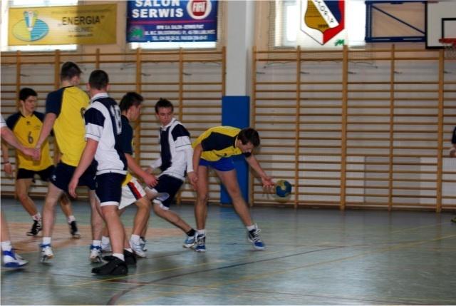 Powiatowe Zawody Piłki Ręcznej Chłopców Szkół Ponadgimnazjalnych 2012