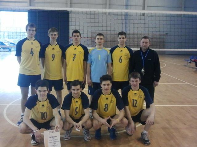 Półfinał Wojewódzki w siatkówce juniorów