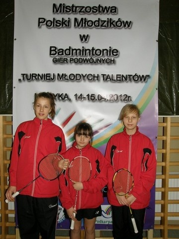 Brąz na Mistrzostwach Polski Młodzików w Badmintonie !!!!