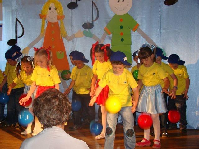 Festiwal piosenki dla przedszkolaków