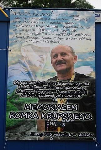 XIII Lubliniecki Turniej Siatkówki Plażowej VICTORIA CUP MEMORIAŁ ROMKA KRUPSKIEGO