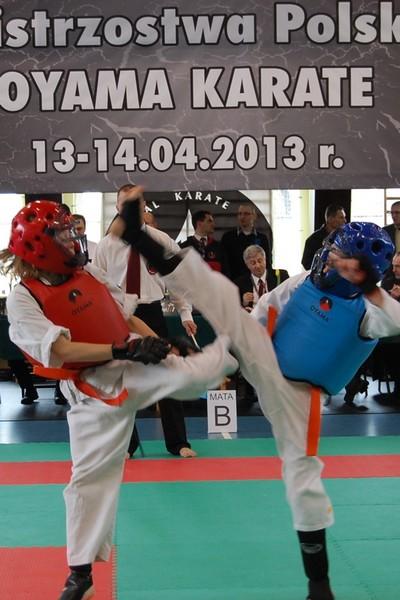 Trzy złote medale w Mistrzostwach Polski w Karate