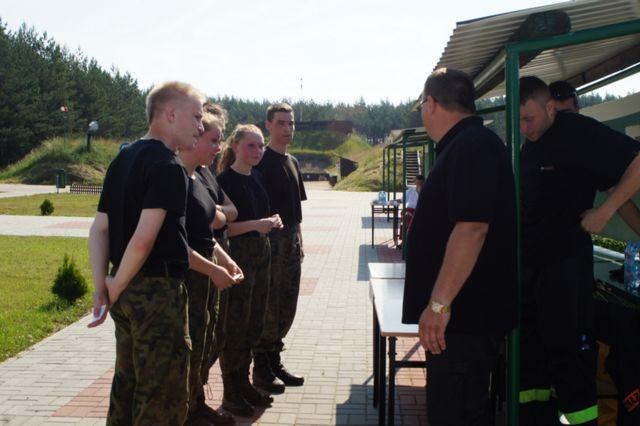 II Bieg Patrolowo – Medyczny klas mundurowych