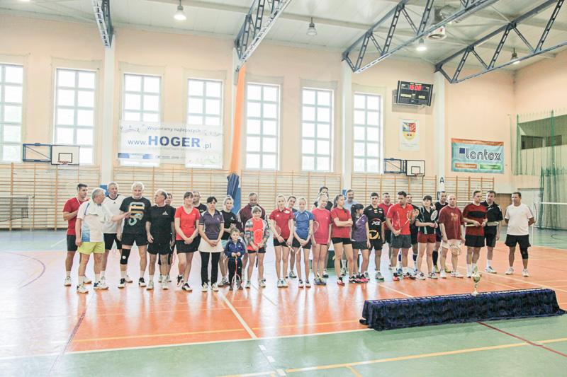 IX Powiatowy Turniej Badmintona