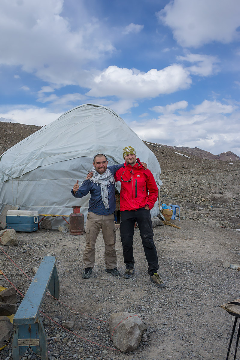 KW. Lubliniec Lenin Peak Expedition 7134 m n.p.m 2014