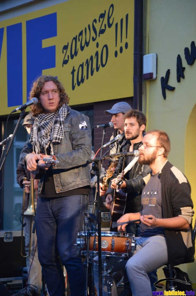 Koncert Kraków Street Band
