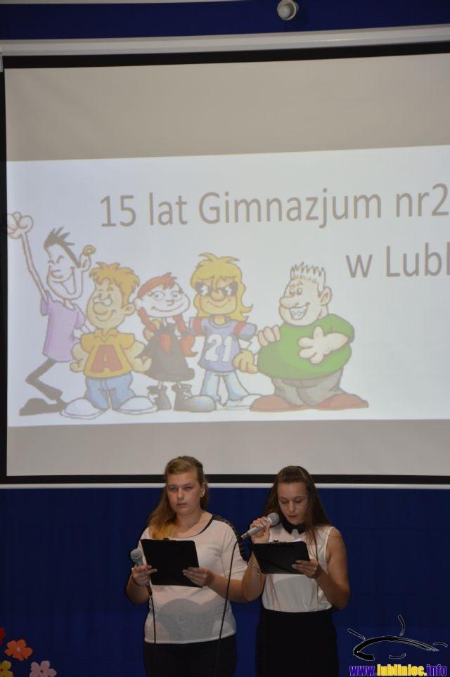 15-lecie Gimnazjum nr 2 w Lublińcu