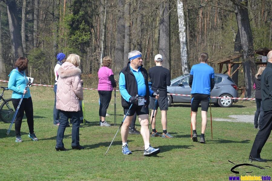 Zawody Nordic Walking w Lublińcu 2015