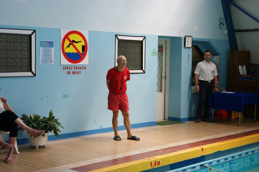 Jubileuszowe zawody pływackie, z okazji 40-lecia Basenu krytego w Lublińcu