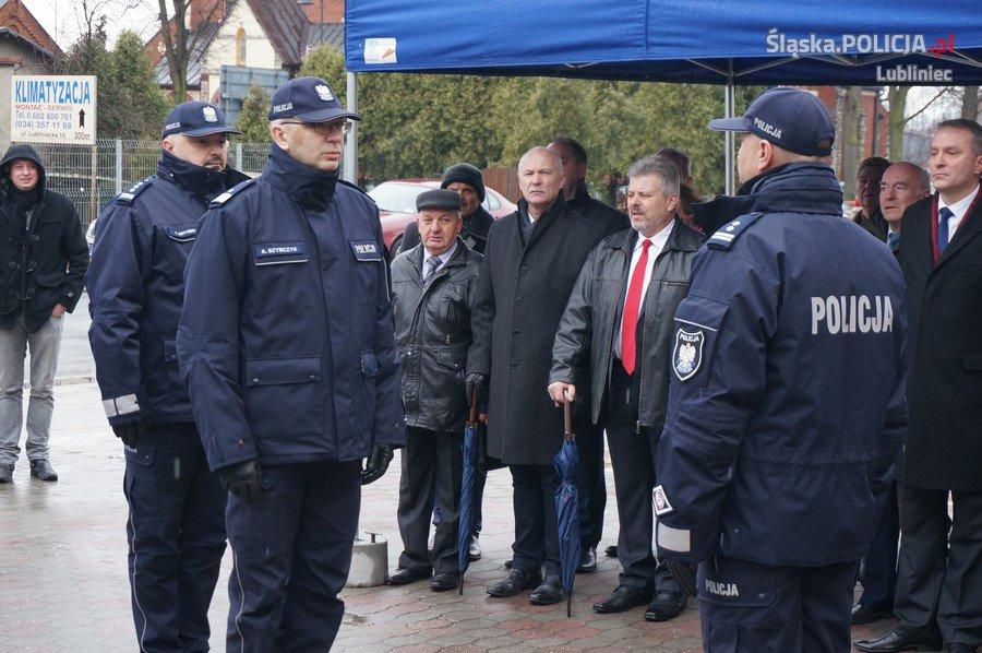 Przywrócony Posterunek Policji w Koszęcinie