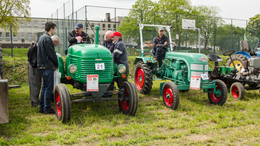 III Ogolnopolski Konkurs Orki Zabytkowymi Traktorami w Lubecku