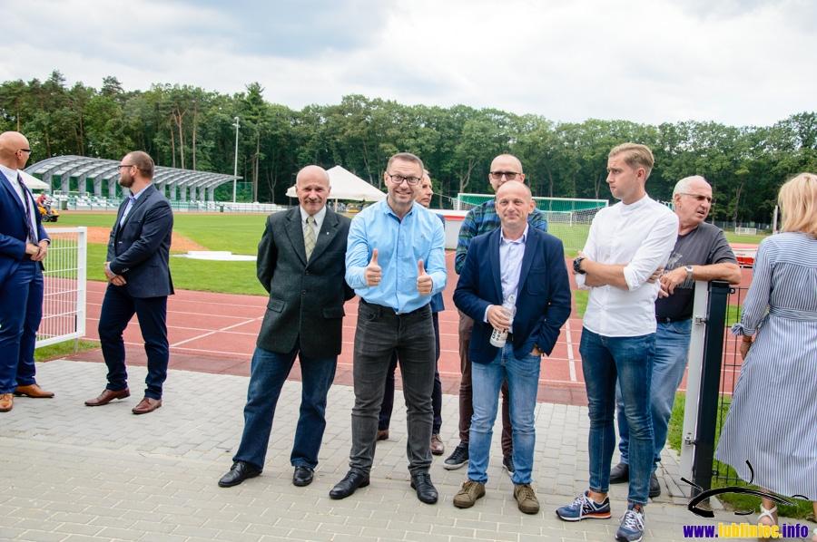 Uroczyste otwarcie nowego budynku zaplecza Stadionu Miejskiego