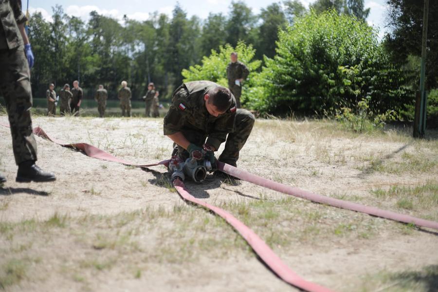 Ćwiczenia Wojsk Obrony Terytorialnej w Lublińcu