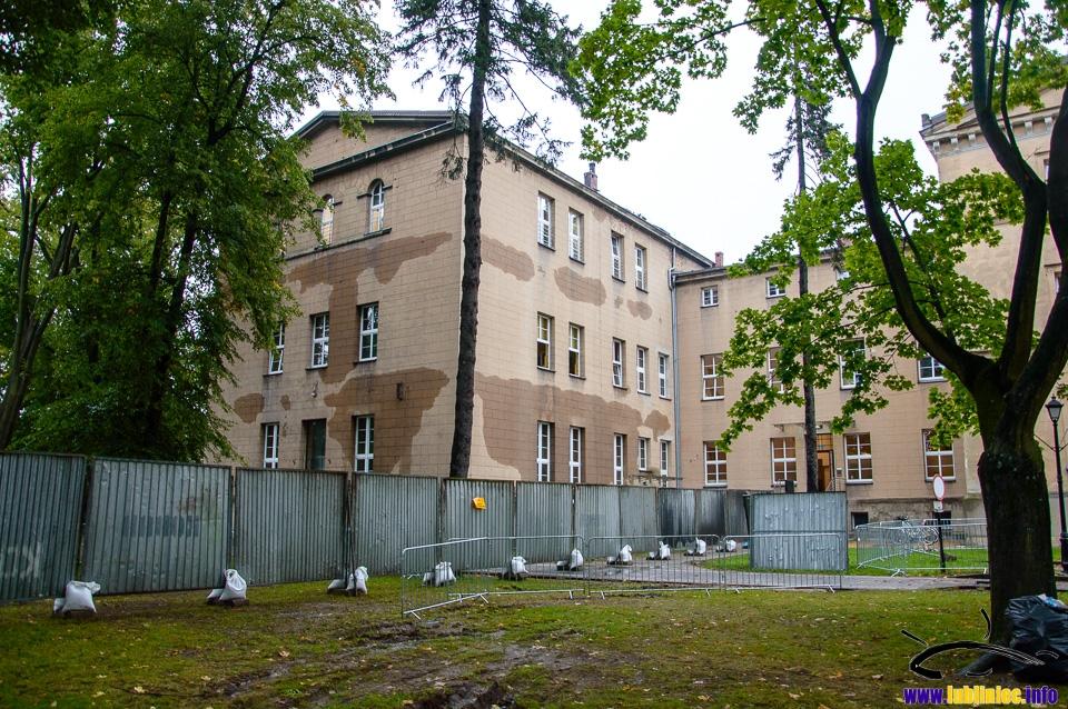 Pożar szkoły katolickiej w Lublińcu - uczniowie wznawiają lekcje