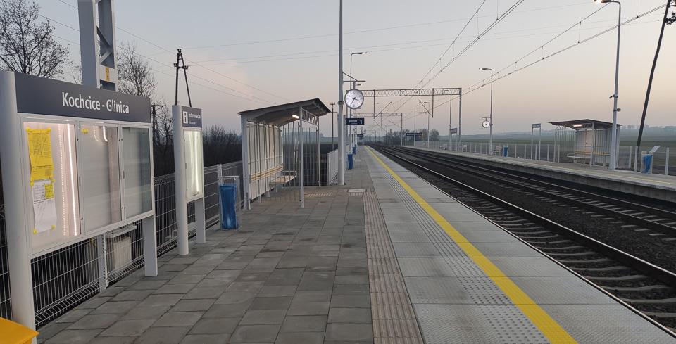 Przystanek kolejowy Kochcice–Glinica gotowy. Wiemy kiedy zatrzyma się pierwszy pociąg