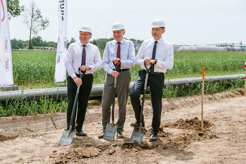 Rozpoczęcie budowy rurociągu paliwowego Boronów - Trzebinia