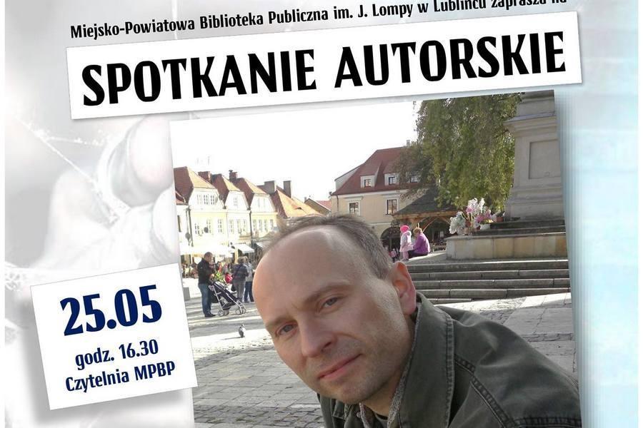 Spotkanie autorskie z Rafałem Sochą