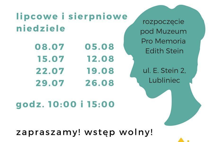 """Zwiedzanie miasta: """"Lublinieckie ślady Edyty Stein"""""""