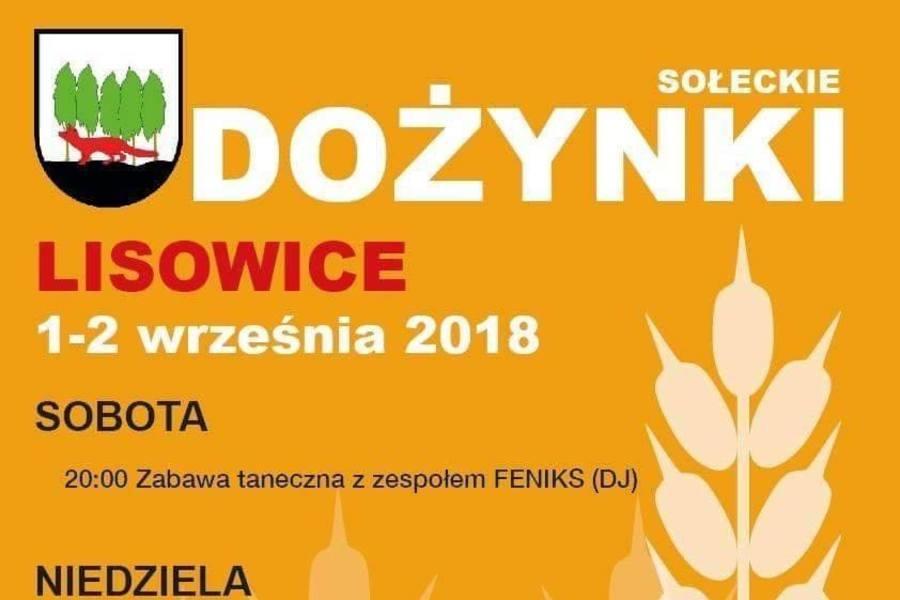 Dożynki Sołeckie - Lisowice