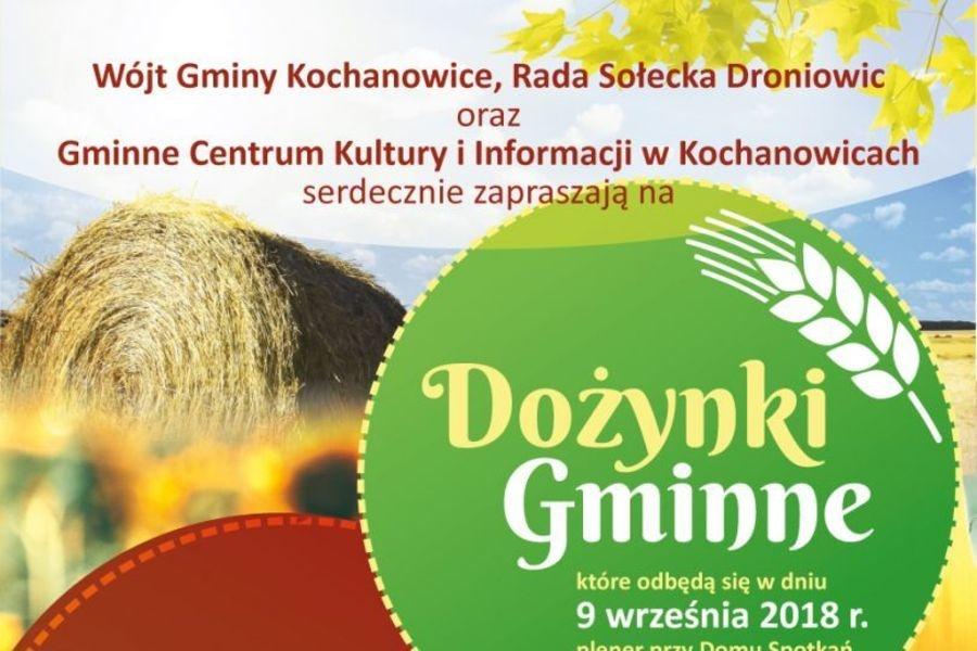 Dożynki Gminne w Kochanowicach