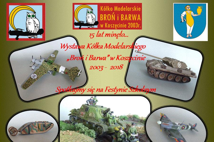Wystawa modeli w Koszęcinie