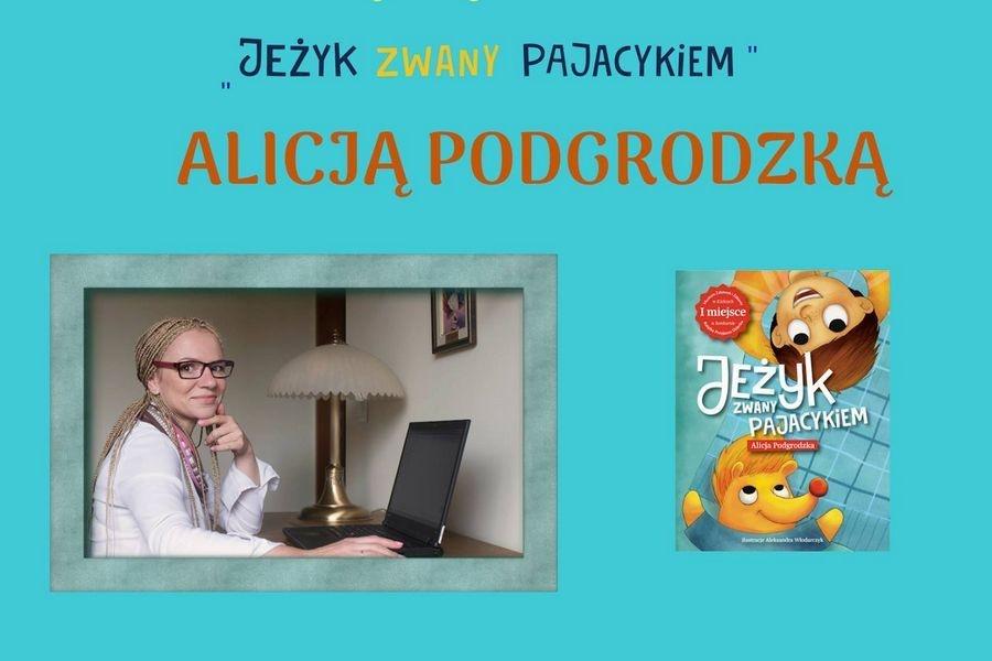 Spotkanie autorskie z Alicją Podgrodzką