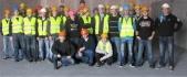 Uczniowie ZSOT na budowie centrum handlowego w Gliwicach