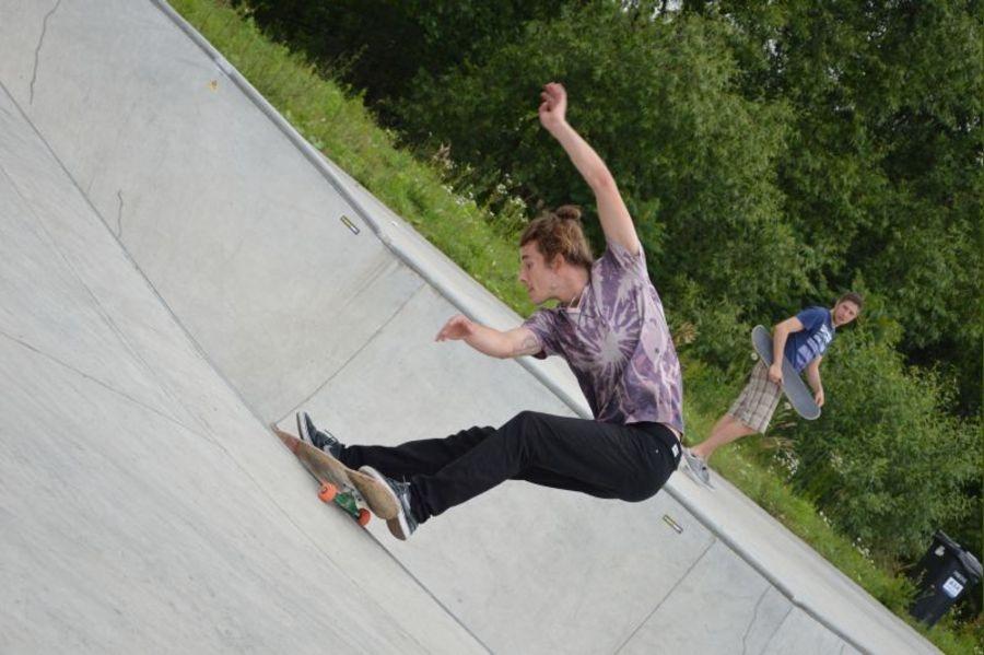 Zawody w skateboardingu FOTO