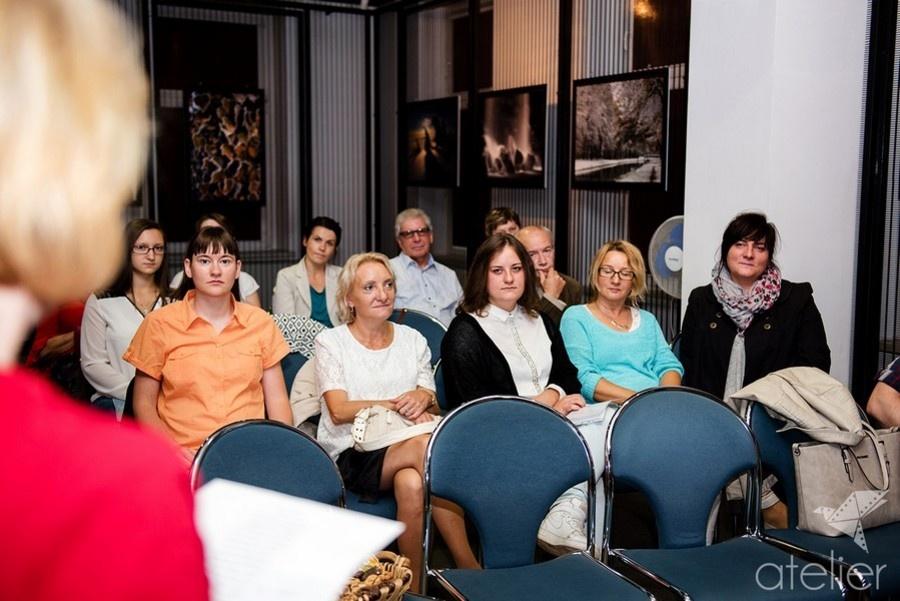 Inauguracyjne spotkanie Lublinieckiego Klubu Literackiego LOGOS